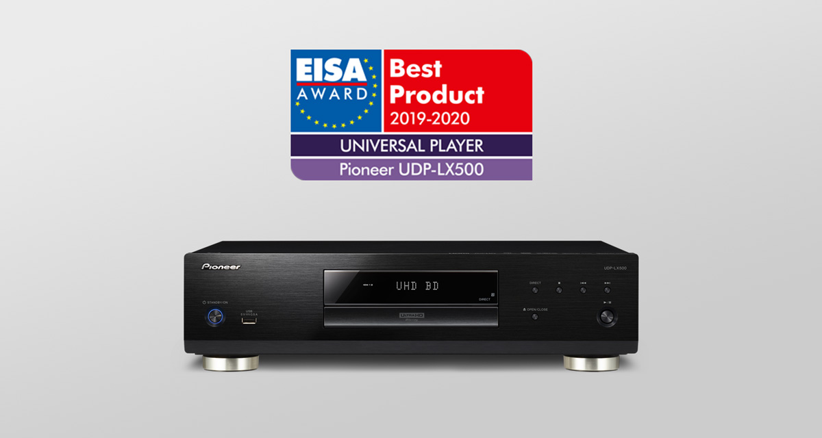 UDP-LX500 EISA Award Winner